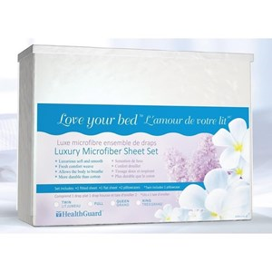 Twin Luxury Microfiber Sheets