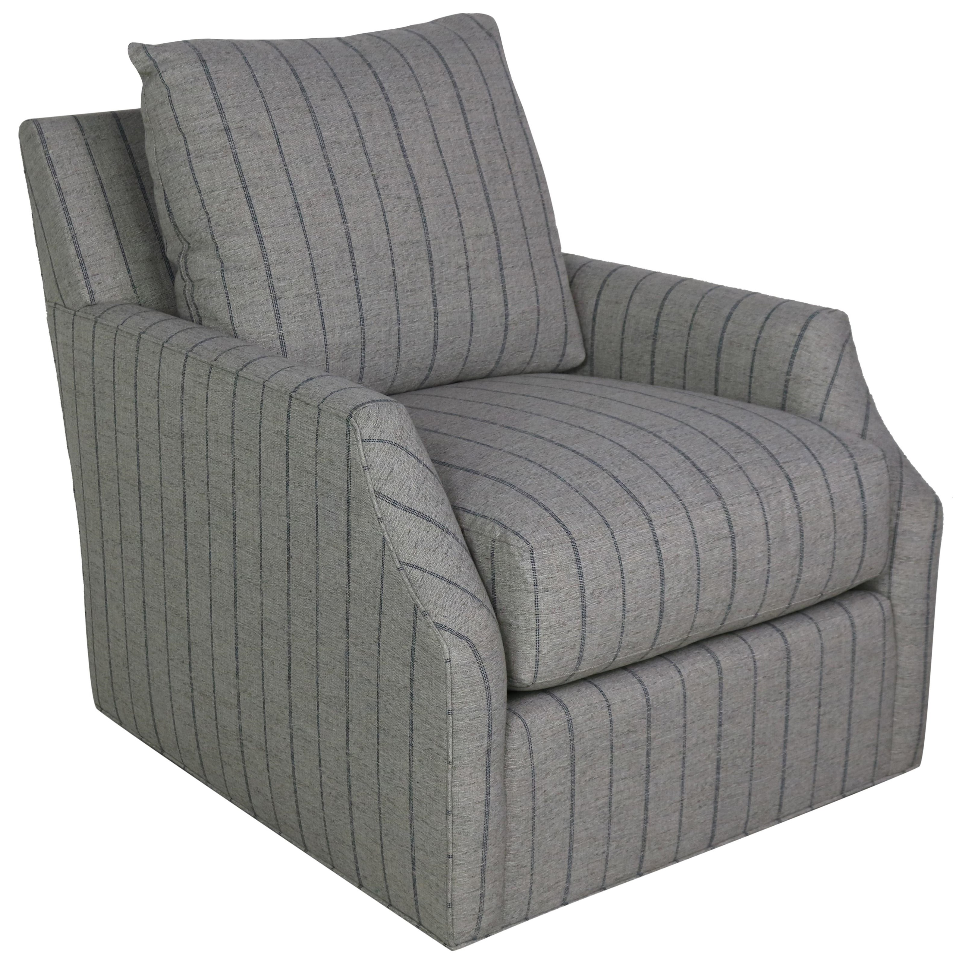 Accent Chairs Swivel Chair by Vanguard Furniture at Sprintz Furniture