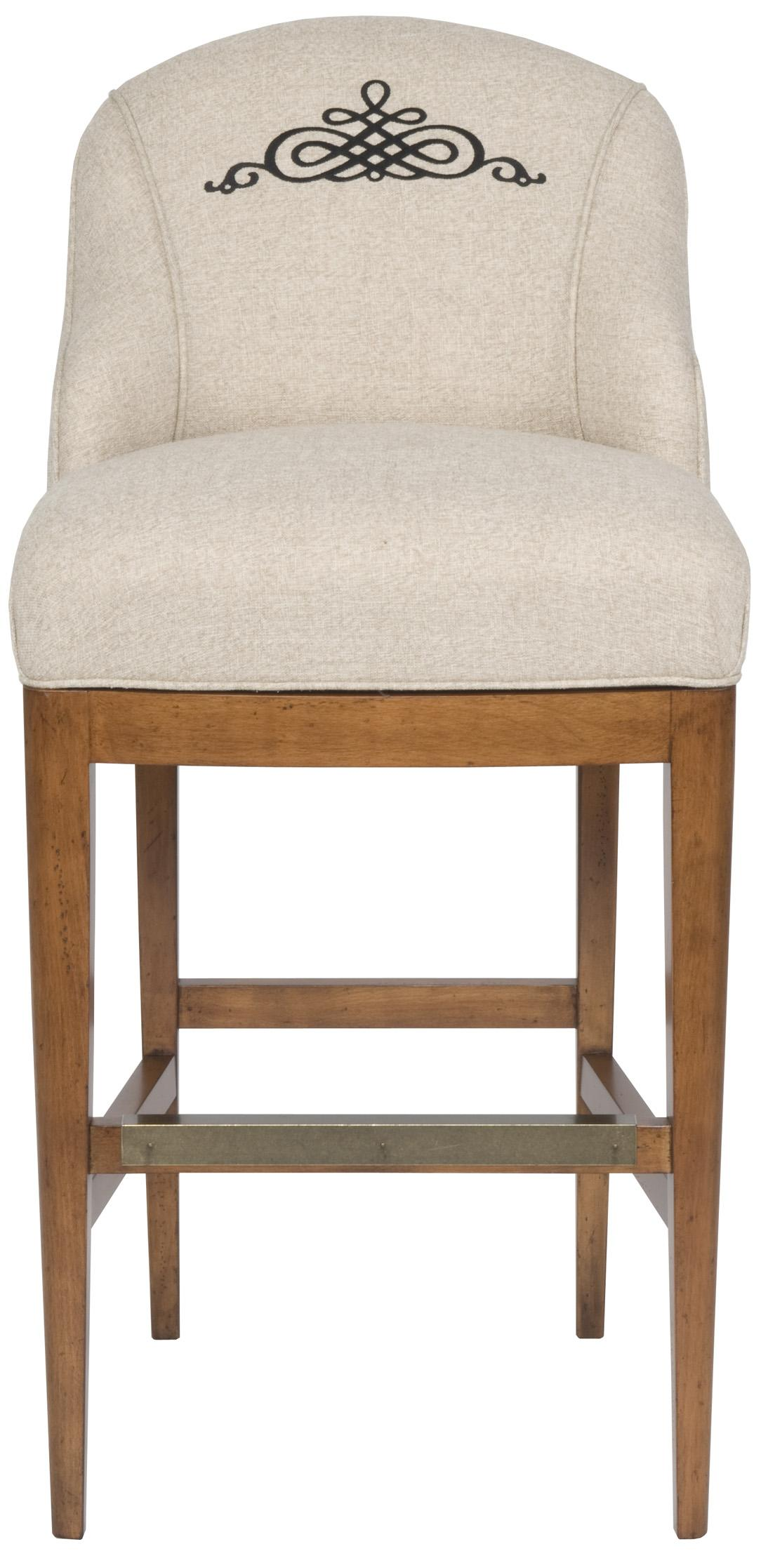 Accent Chairs Bar Stool by Vanguard Furniture at Baer's Furniture