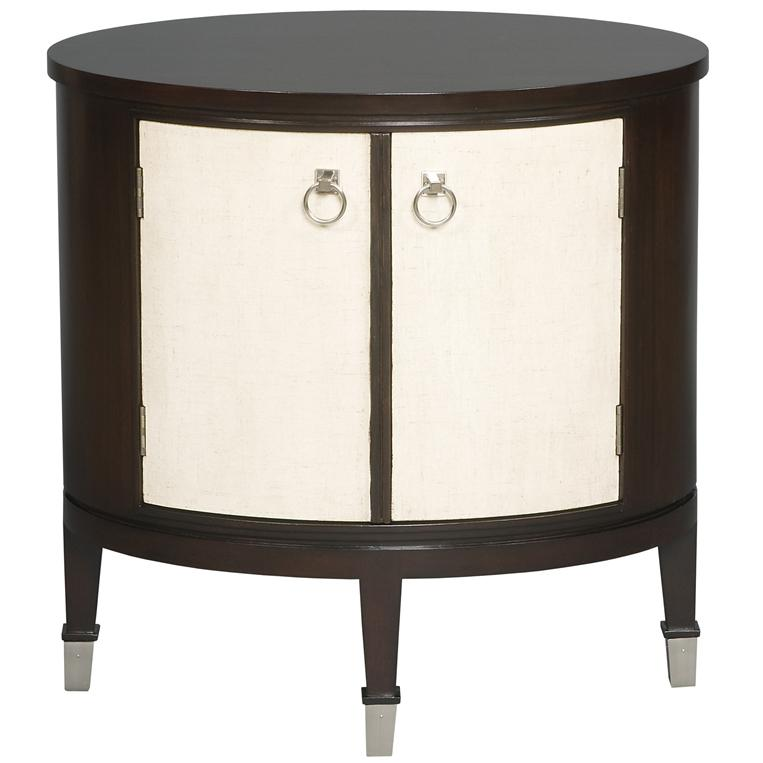 Accent and Entertainment Chests and Tables Maclaine Oval End Table by Vanguard Furniture at Sprintz Furniture