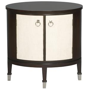 Vanguard Furniture Accent and Entertainment Chests and Tables Maclaine Oval End Table