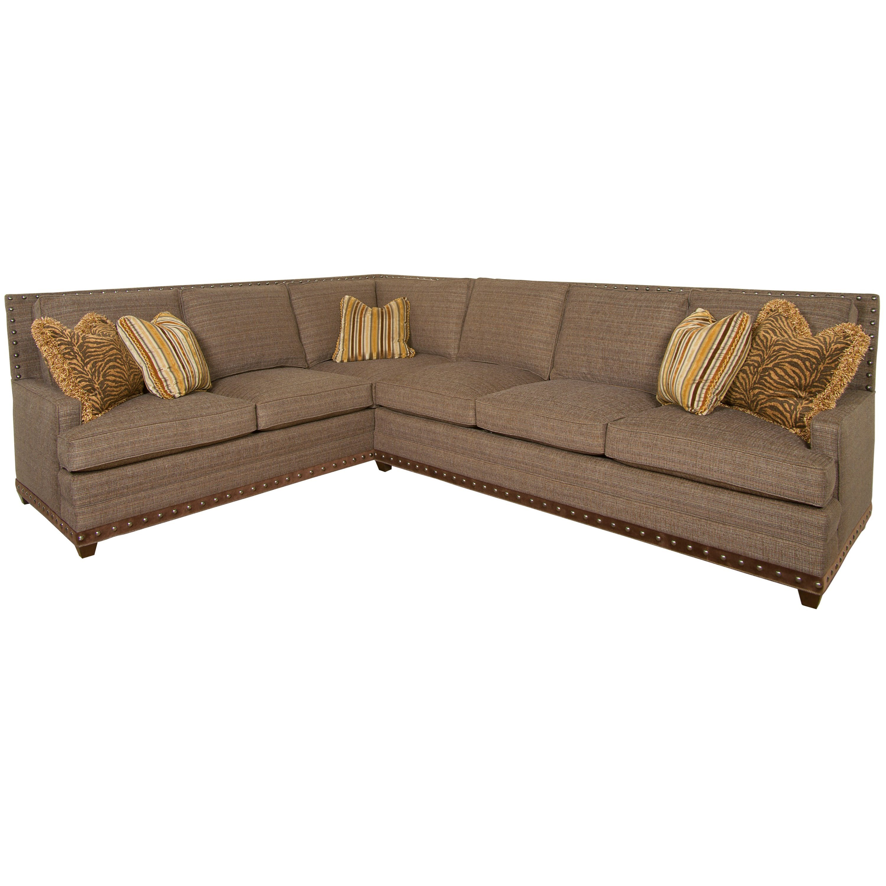 American Bungalow Riverside Sectional Sofa by Vanguard Furniture at Sprintz Furniture