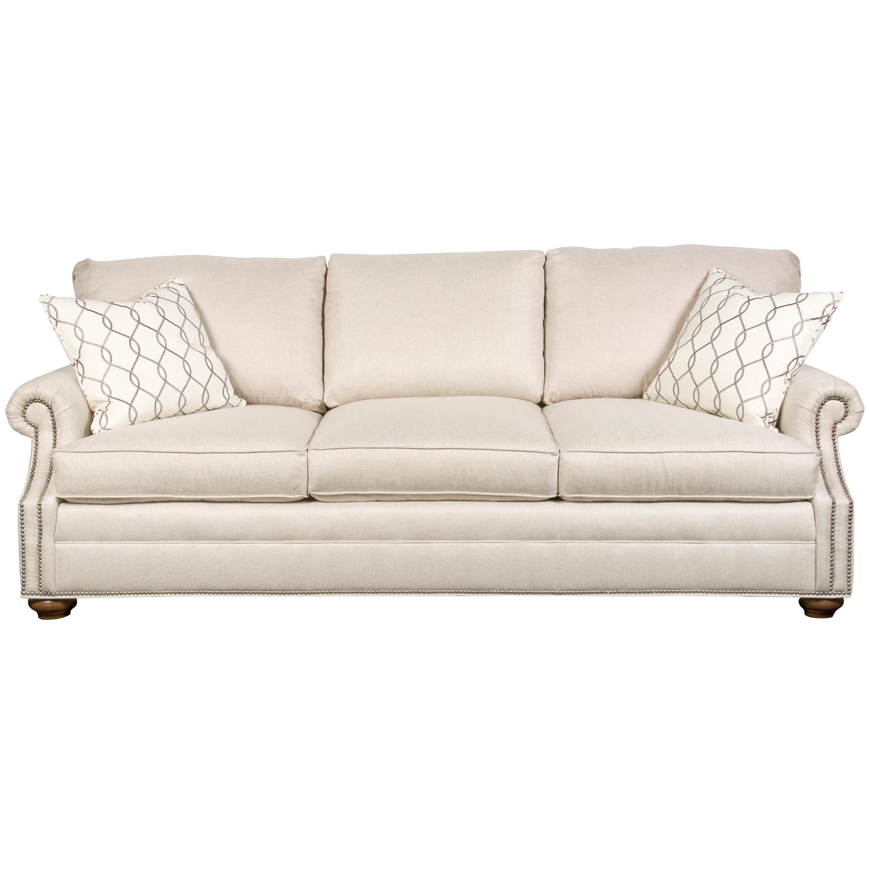 American Bungalow Gutherly Sofa by Vanguard Furniture at Baer's Furniture