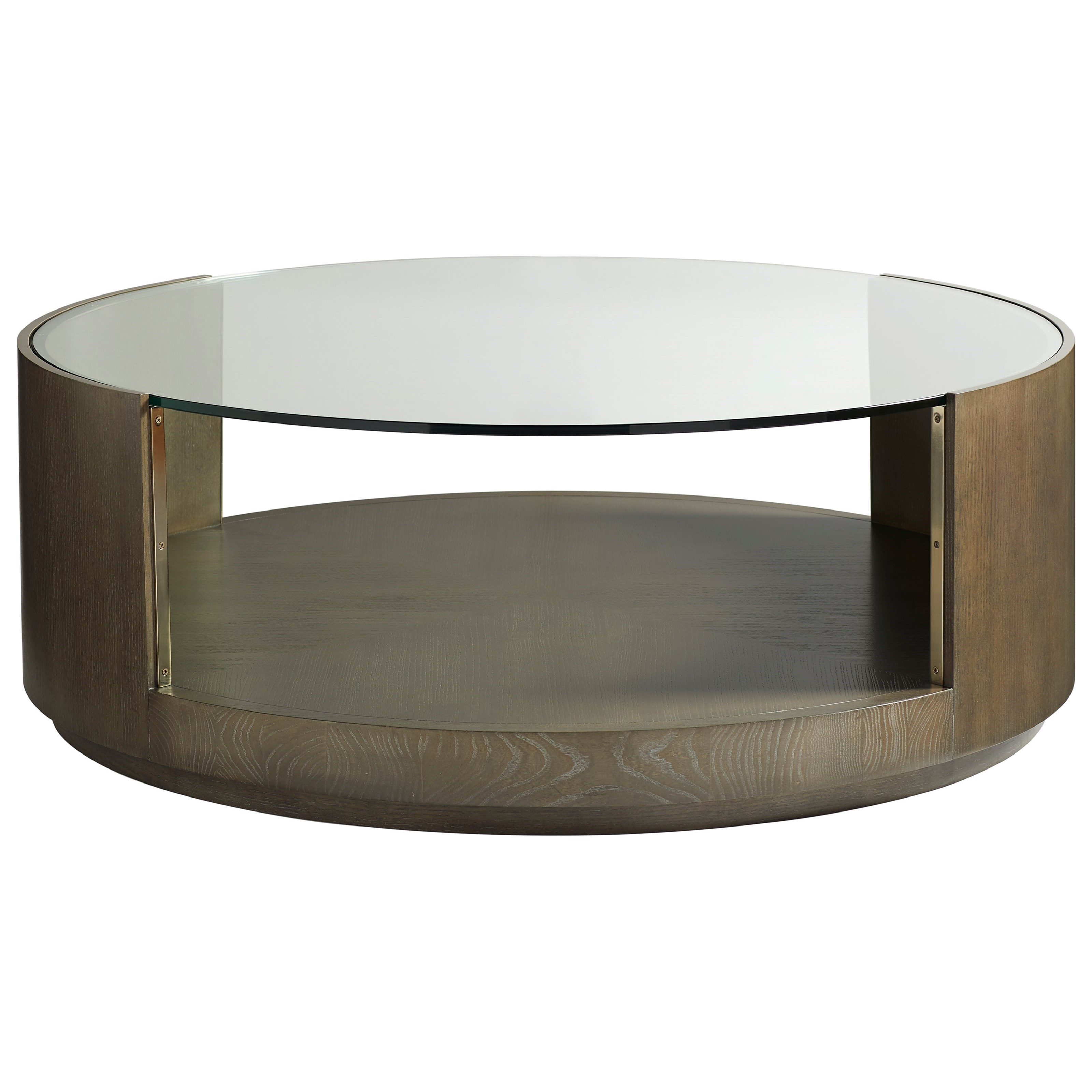 Axis Round Cocktail Table by Vanguard Furniture at Baer's Furniture