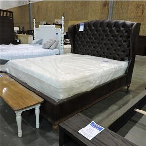 Vanguard Furniture Clearance King Leather Bed
