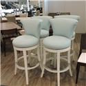 Vanguard Furniture Clearance Pair of Avery Swivel Stools - Item Number: 868185307