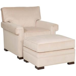 Vanguard Furniture Davidson Chair and Ottoman