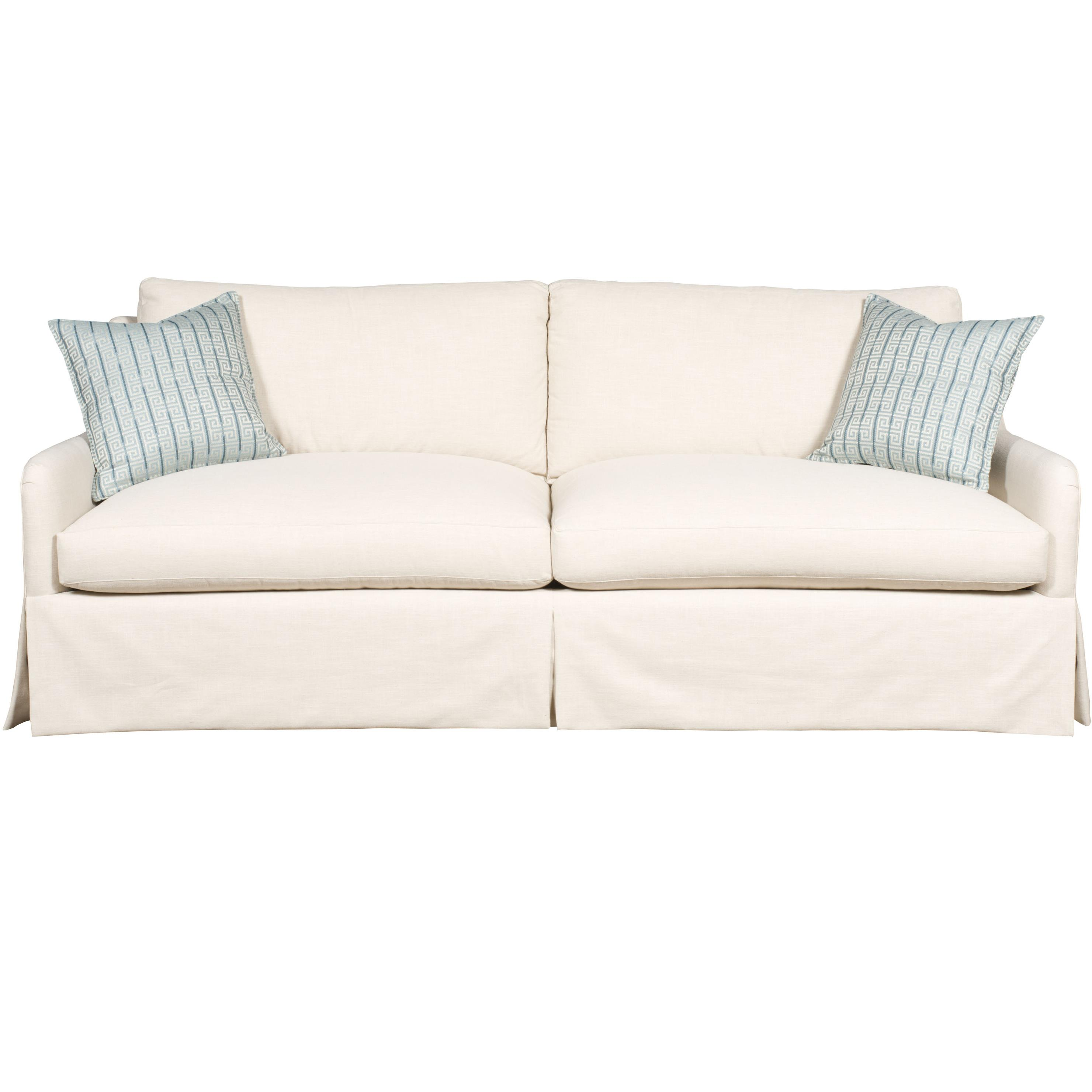Vanguard Furniture Fisher Contemporary Sofa With Track Arms And