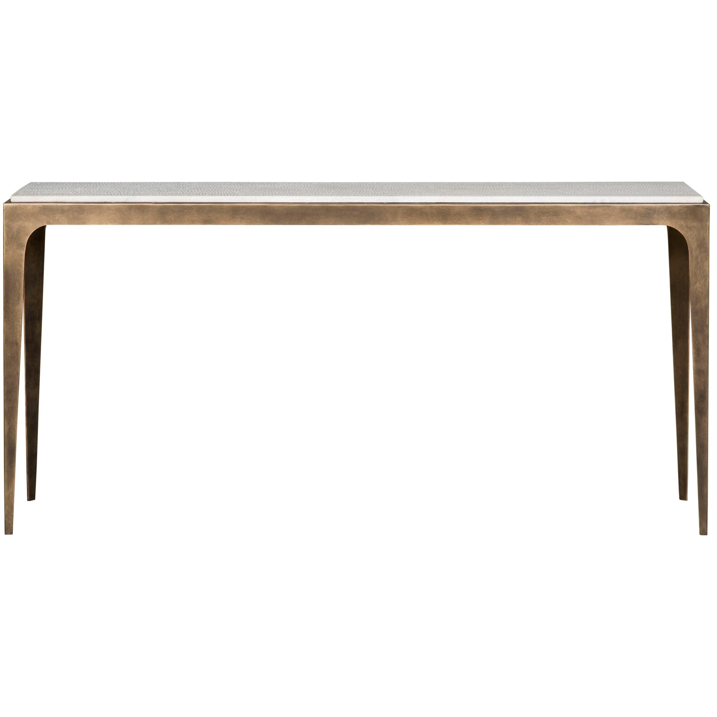 Vanguard Furniture Hancock Console Table With Marble Top