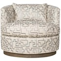 Vanguard Furniture Michael Weiss Bernadette Swivel Chair - Item Number: W195P-SW-550391