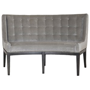 Vanguard Furniture Michael Weiss Alton Banquette