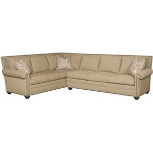 Vanguard Furniture Simpson Traditional Sectional