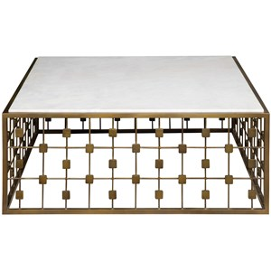 Vanguard Furniture Sparkle Sparkle Square Cocktail Table