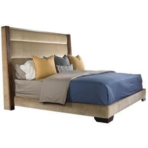 Vanguard Furniture Thom Filicia Home Collection King Upholstered Platform Bed