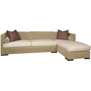 Vanguard Furniture Thom Filicia Home Collection Sectional Sofa with Chaise