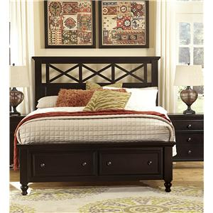Vaughan Bassett Ellington King Garden Storage Bed