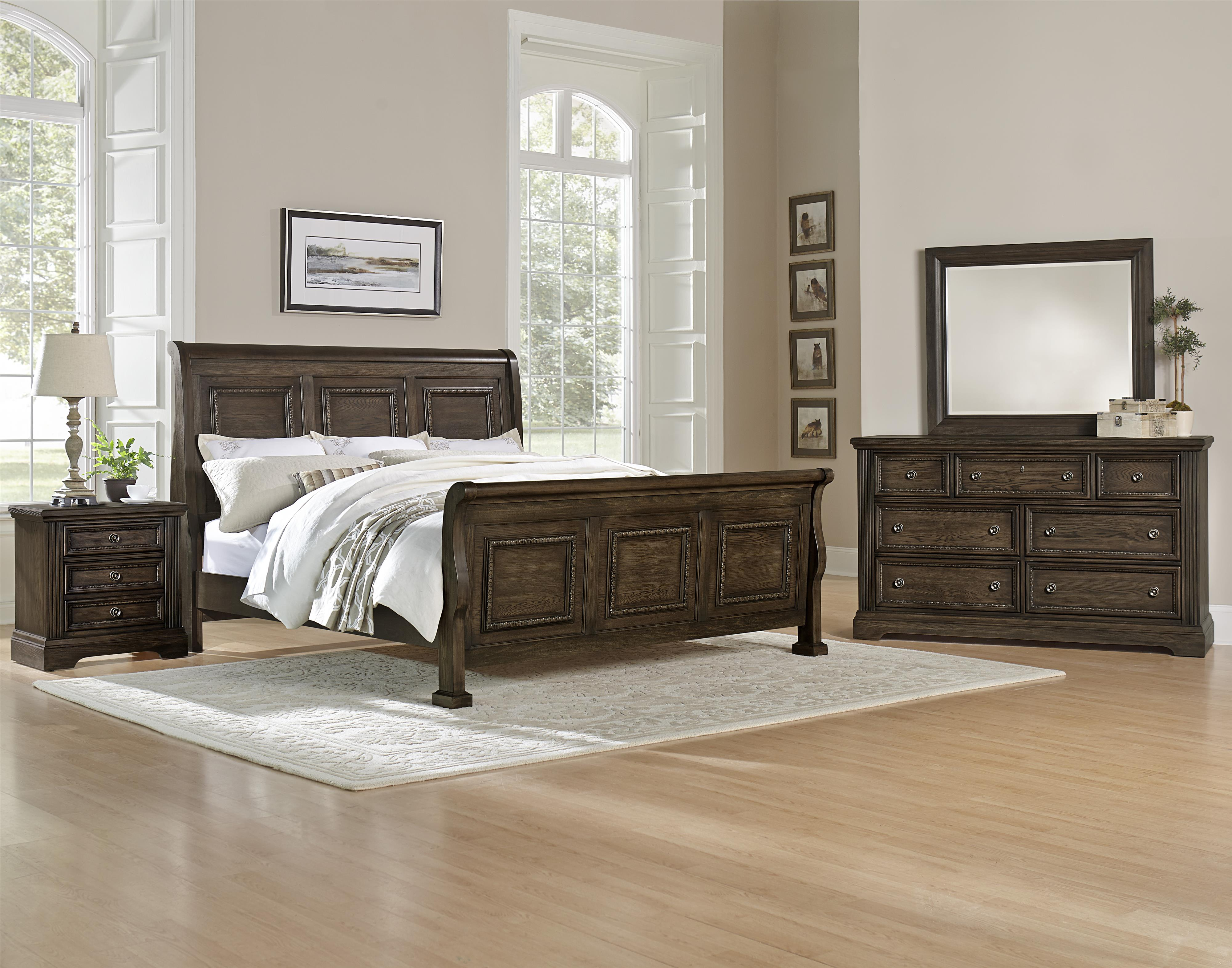 Vaughan Bassett Affinity Queen Bedroom Group - Item Number: 560 Q Bedroom Group 2