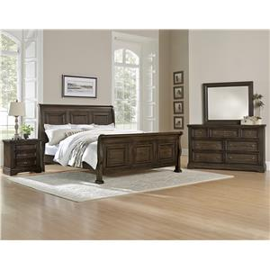 Vaughan Bassett Affinity King Bedroom Group