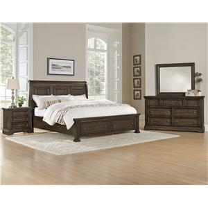 Vaughan Bassett Affinity Queen Bedroom Group