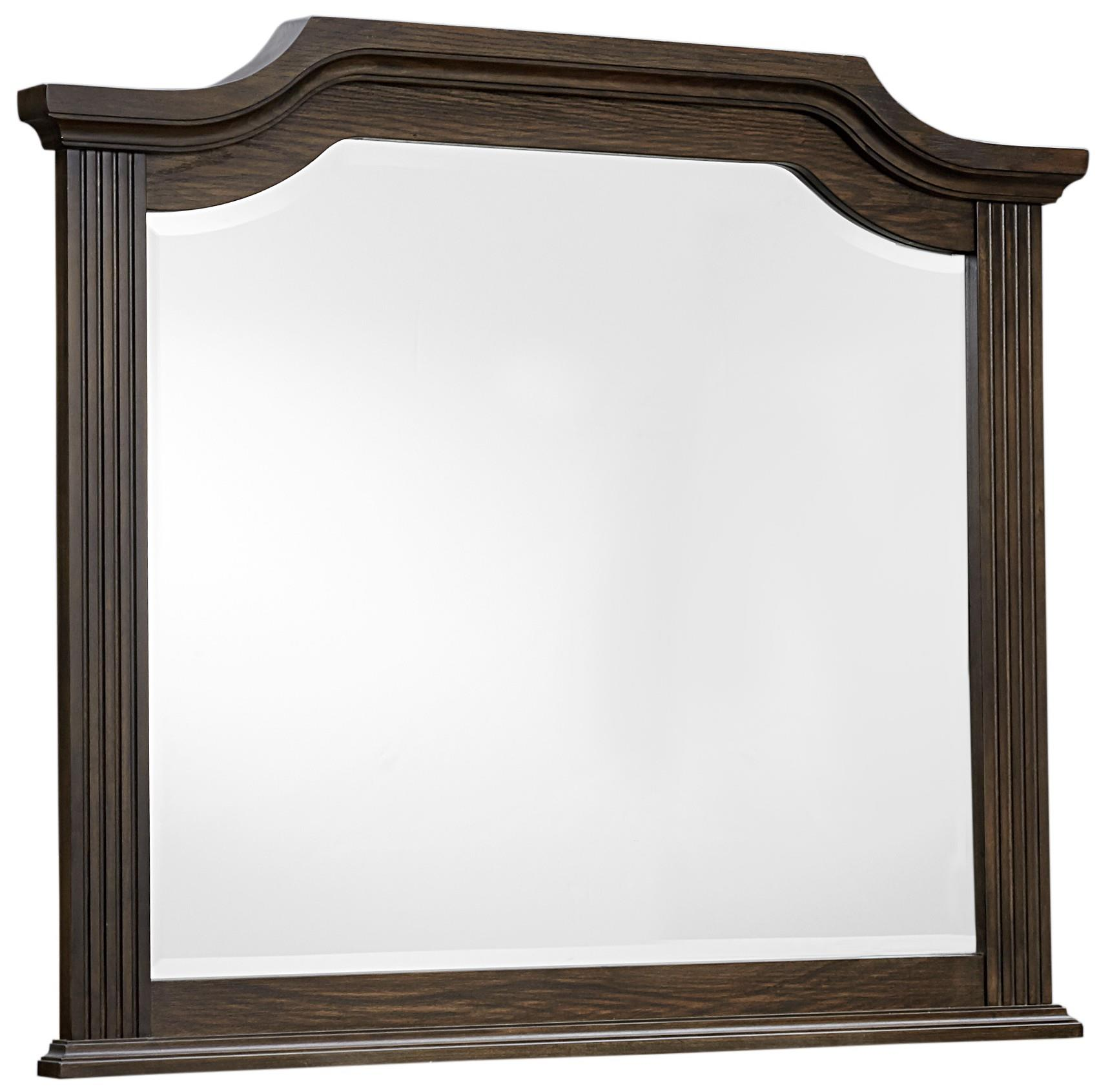 Vaughan Bassett Affinity Arch Mirror - Beveled glass - Item Number: 560-447