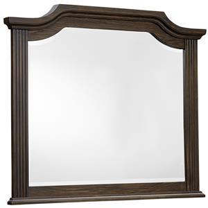 Vaughan Bassett Affinity Arch Mirror - Beveled glass
