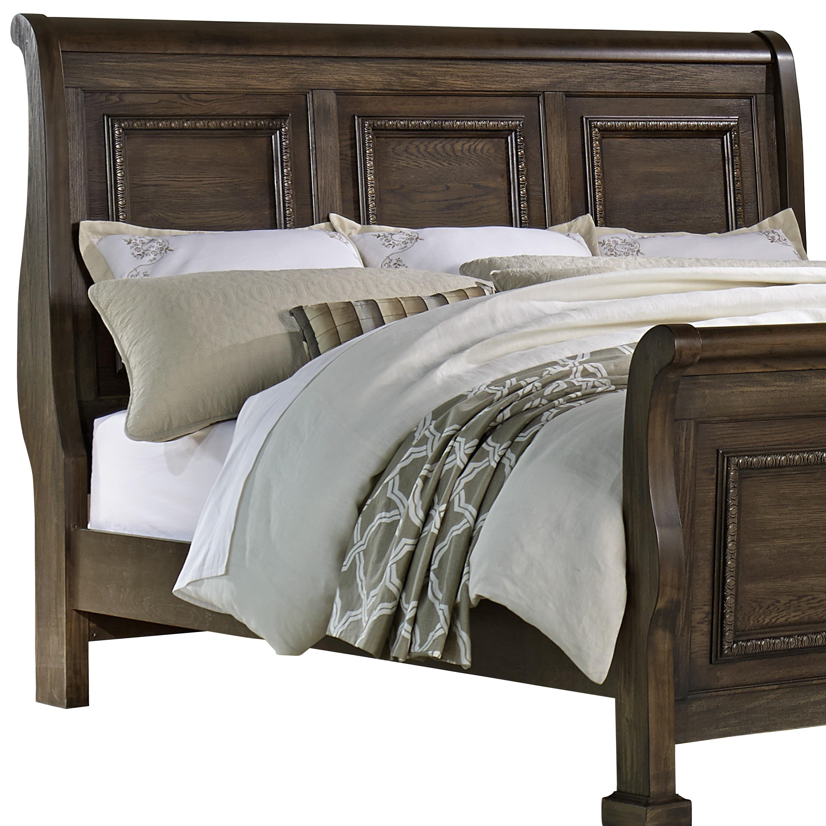 Vaughan Bassett Affinity Queen Sleigh Headboard - Item Number: 560-553