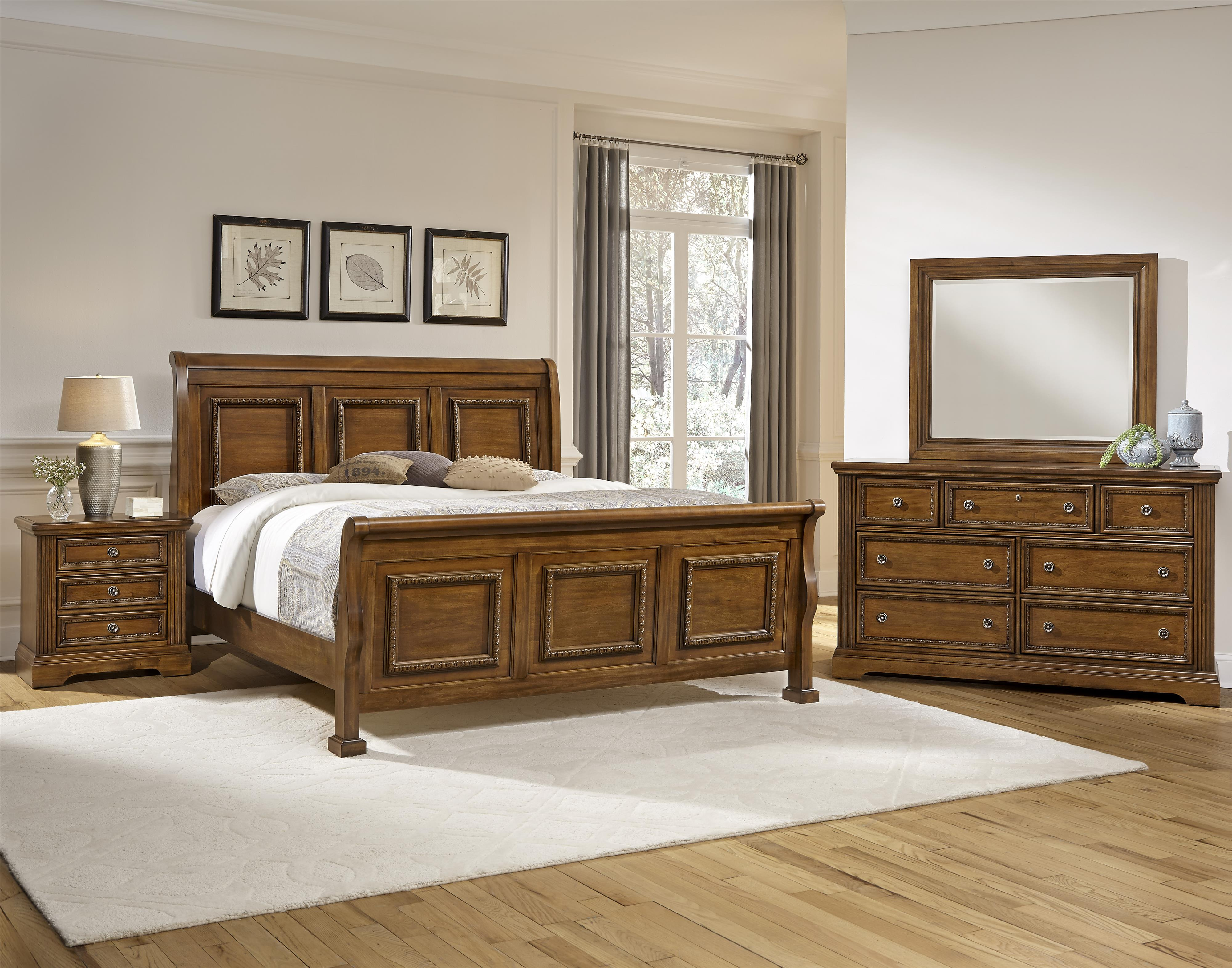 Vaughan Bassett Affinity Queen Bedroom Group - Item Number: 562 Q Bedroom Group 2