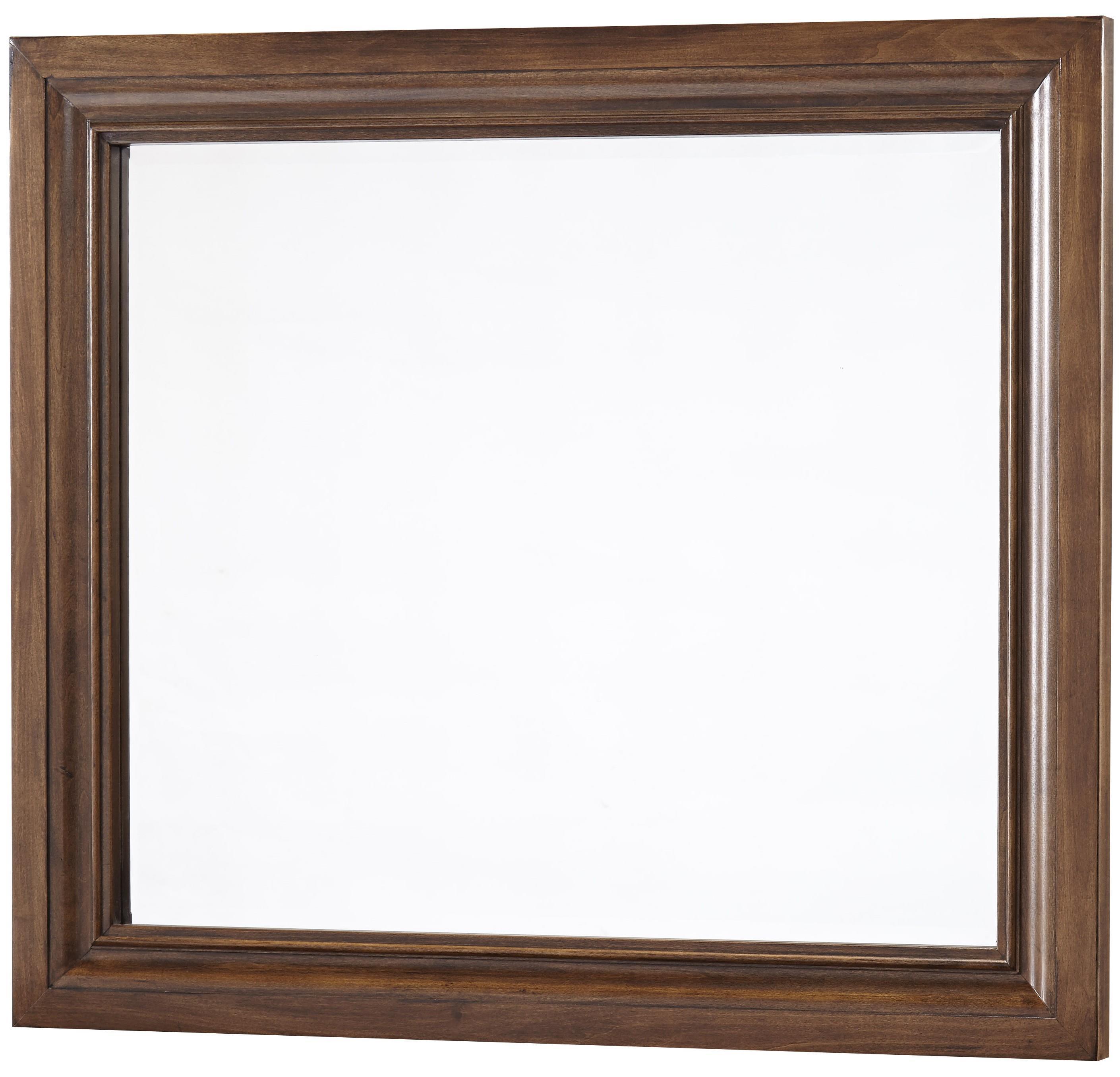 Vaughan Bassett Affinity Landscape Mirror - Beveled glass - Item Number: 562-446