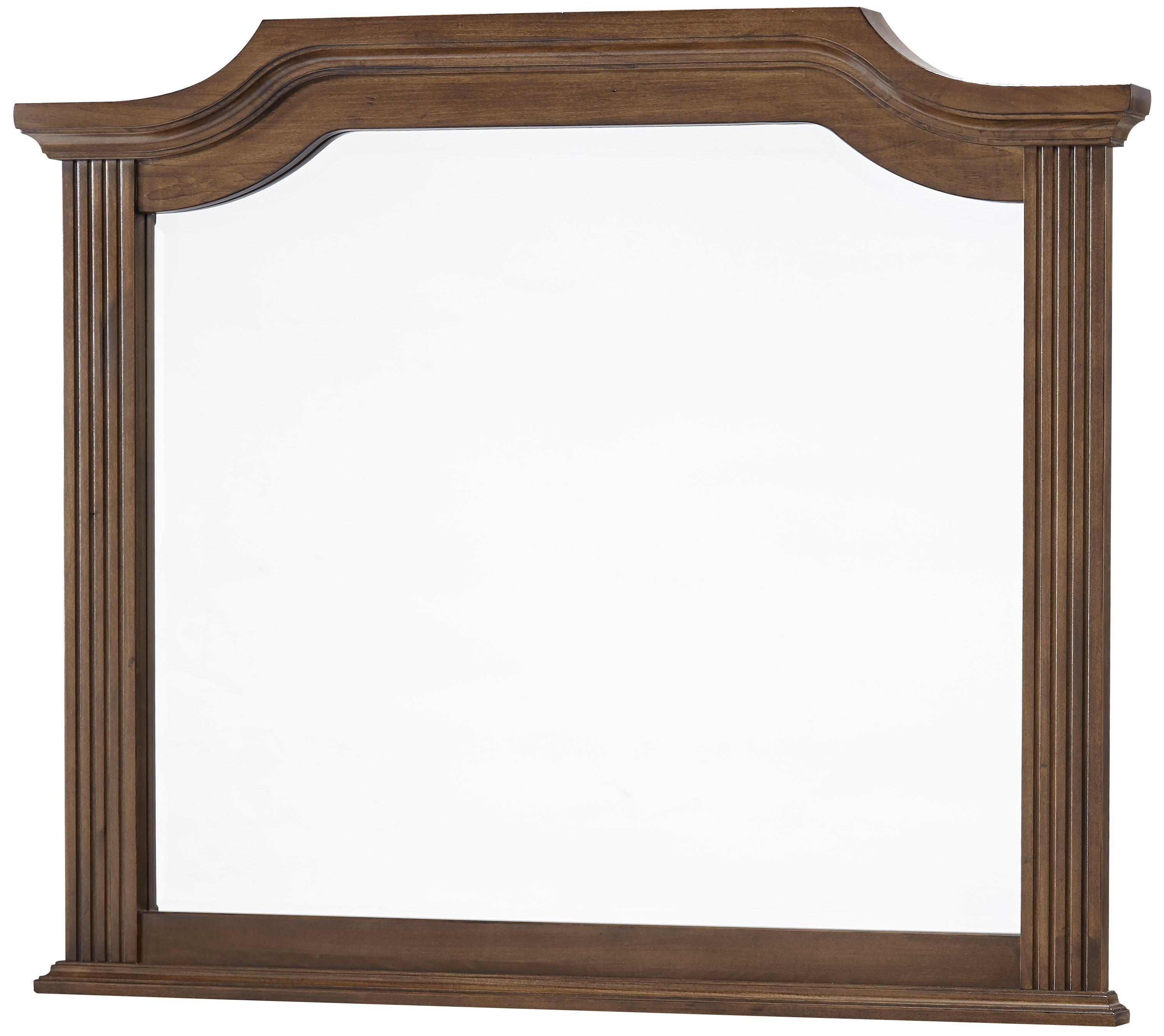 Vaughan Bassett Affinity Arch Mirror - Beveled glass - Item Number: 562-447