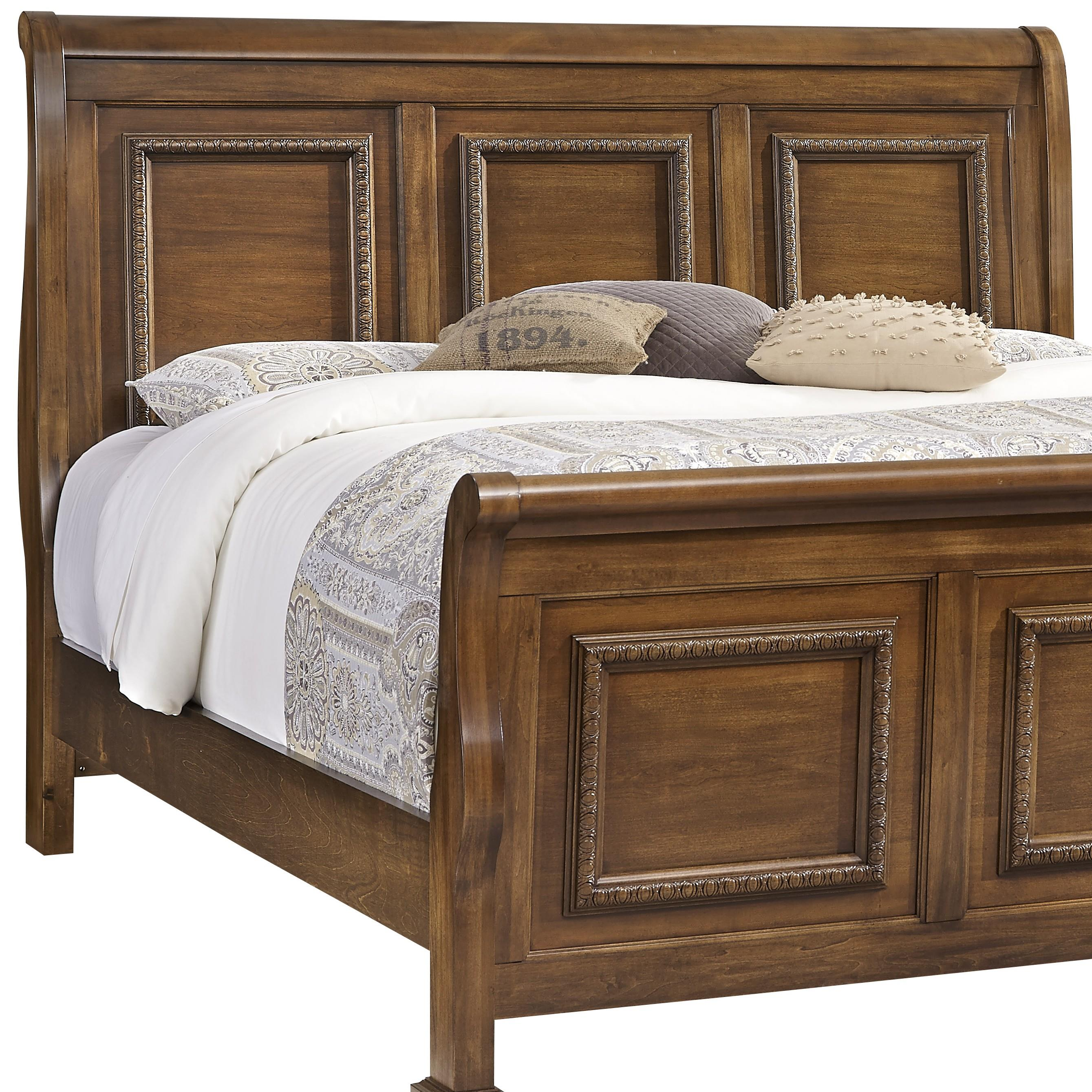 Vaughan Bassett Affinity Queen Sleigh Headboard - Item Number: 562-553