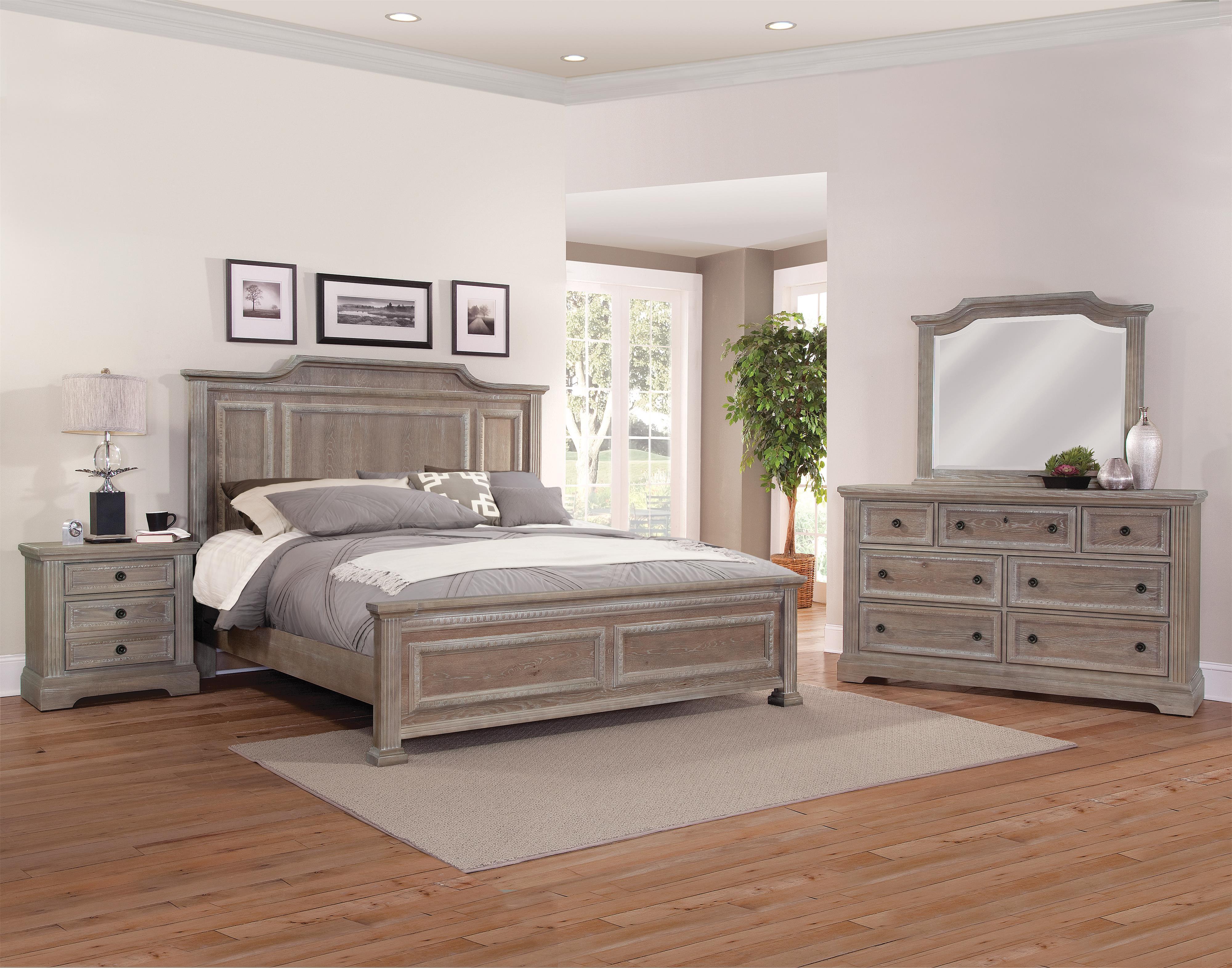 Vaughan Bassett Affinity Queen Bedroom Group - Item Number: 564 Q Bedroom Group 1