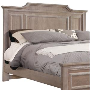 Vaughan Bassett Affinity Queen Mansion Headboard