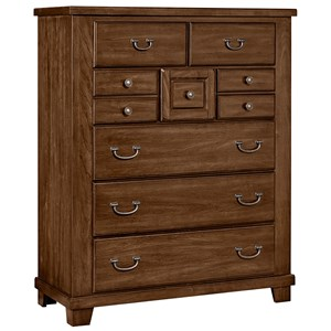 Vaughan Bassett American Cherry Gentleman?s Chest - 8 Drawers