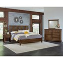 Vaughan Bassett American Cherry Queen Bedroom Group - Item Number: 417 Q Bedroom Group 1