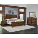 Vaughan Bassett American Cherry King Bedroom Group - Item Number: 417 K Bedroom Group 3