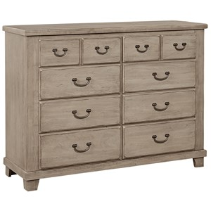 Vaughan Bassett American Cherry Bureau - 8 Drawers