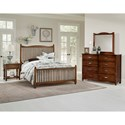 Vaughan Bassett American Maple Full Bedroom Group - Item Number: 400 F Bedroom Group 1