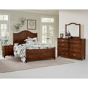 Vaughan Bassett American Maple Twin Bedroom Group - Item Number: 400 T Bedroom Group 2