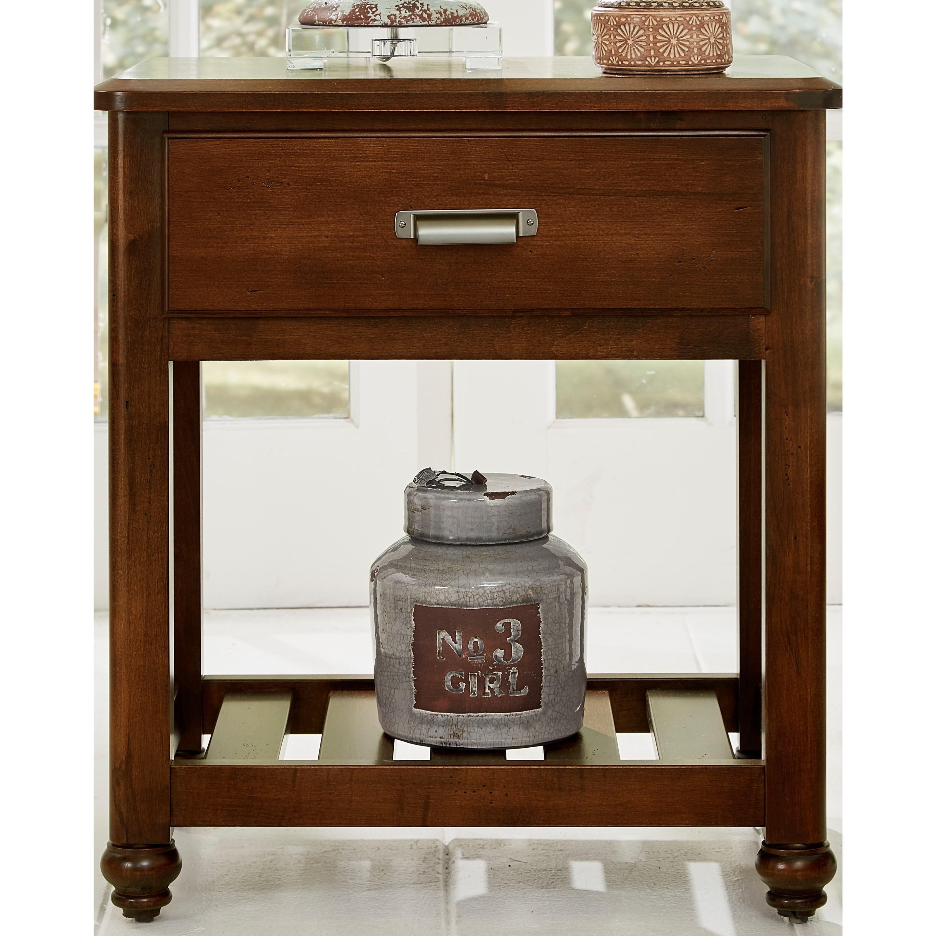 Bassett Furniture Milford Ct: Vaughan Bassett American Maple 400-226 Solid Wood Night