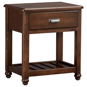 Vaughan Bassett American Maple Night Table - 1 Drawer