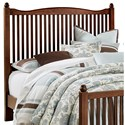 Vaughan Bassett American Maple Twin Slat Headboard - Item Number: 400-377