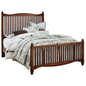 Vaughan Bassett American Maple King Slat Bed