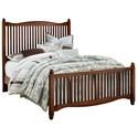 Vaughan Bassett American Maple Full Slat Bed - Item Number: 400-477+774+911