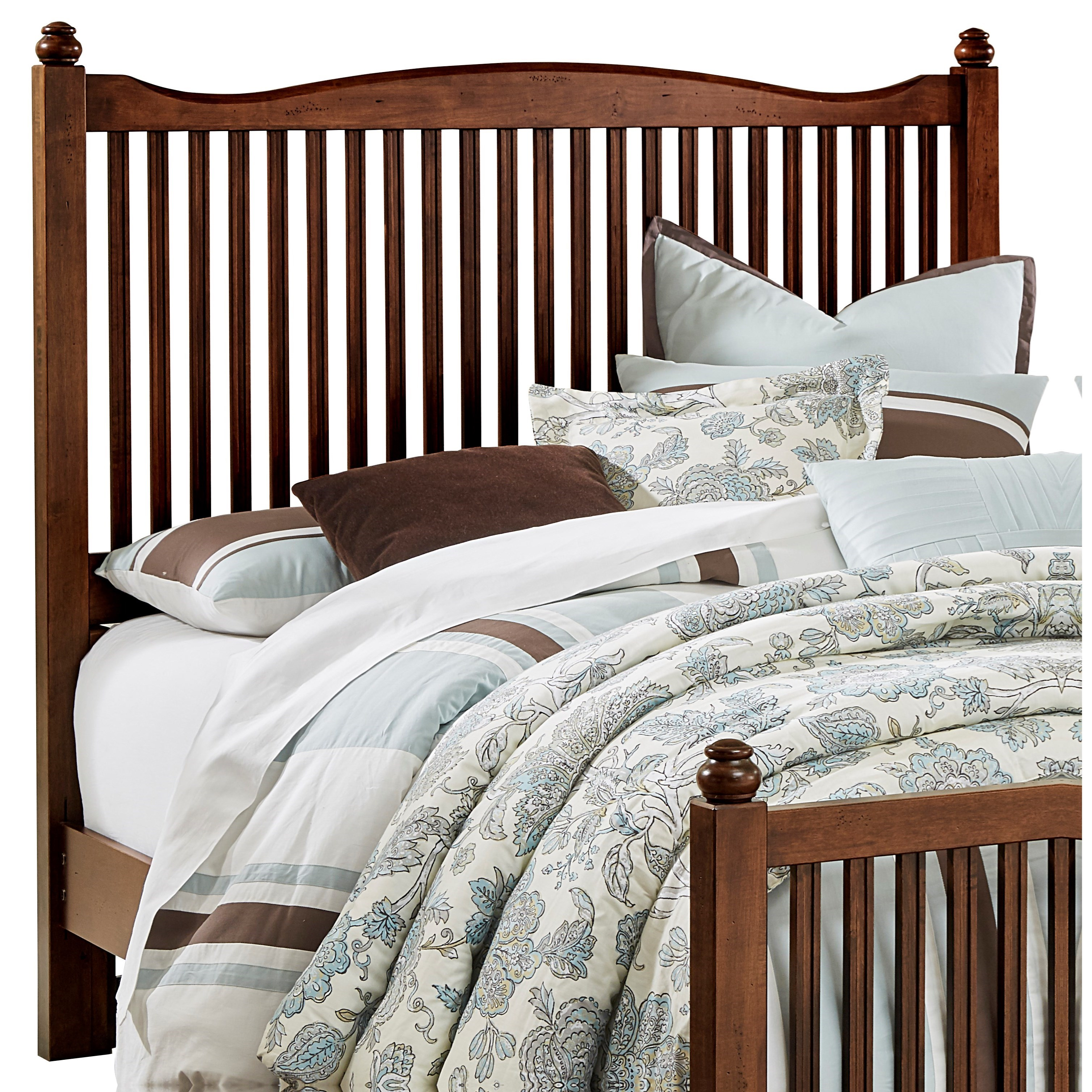 Vaughan Bassett American Maple Queen Slat Headboard - Item Number: 400-557