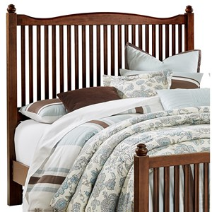 Vaughan Bassett American Maple Queen Slat Headboard