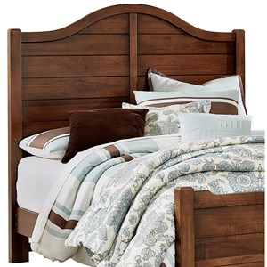 Vaughan Bassett American Maple King Shiplap Headboard