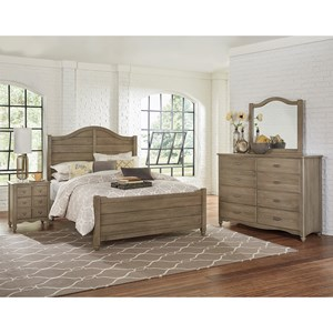 Vaughan Bassett American Maple Full Bedroom Group