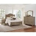 Vaughan Bassett American Maple King Bedroom Group - Item Number: 401 K Bedroom Group 4