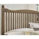 Vaughan Bassett American Maple Solid Wood Full Slat Bed