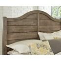 Vaughan Bassett American Maple Solid Wood King Shiplap Bed